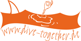 Logo der Tauchschule dive-together.de