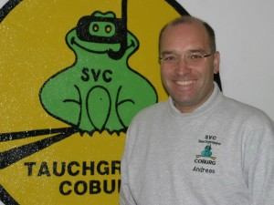 Kassier und Übungsleiter Andreas Worsch